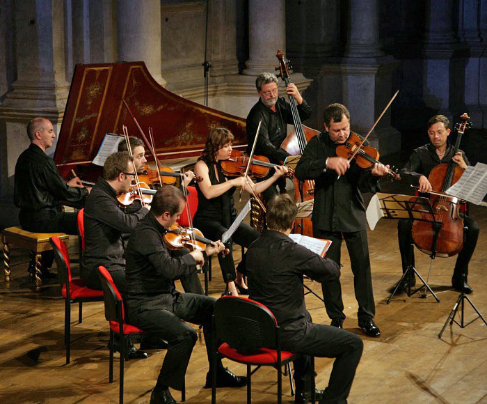 Vivaldi's The Four Seasons and other concerts perform is San Vidal Church in Venice